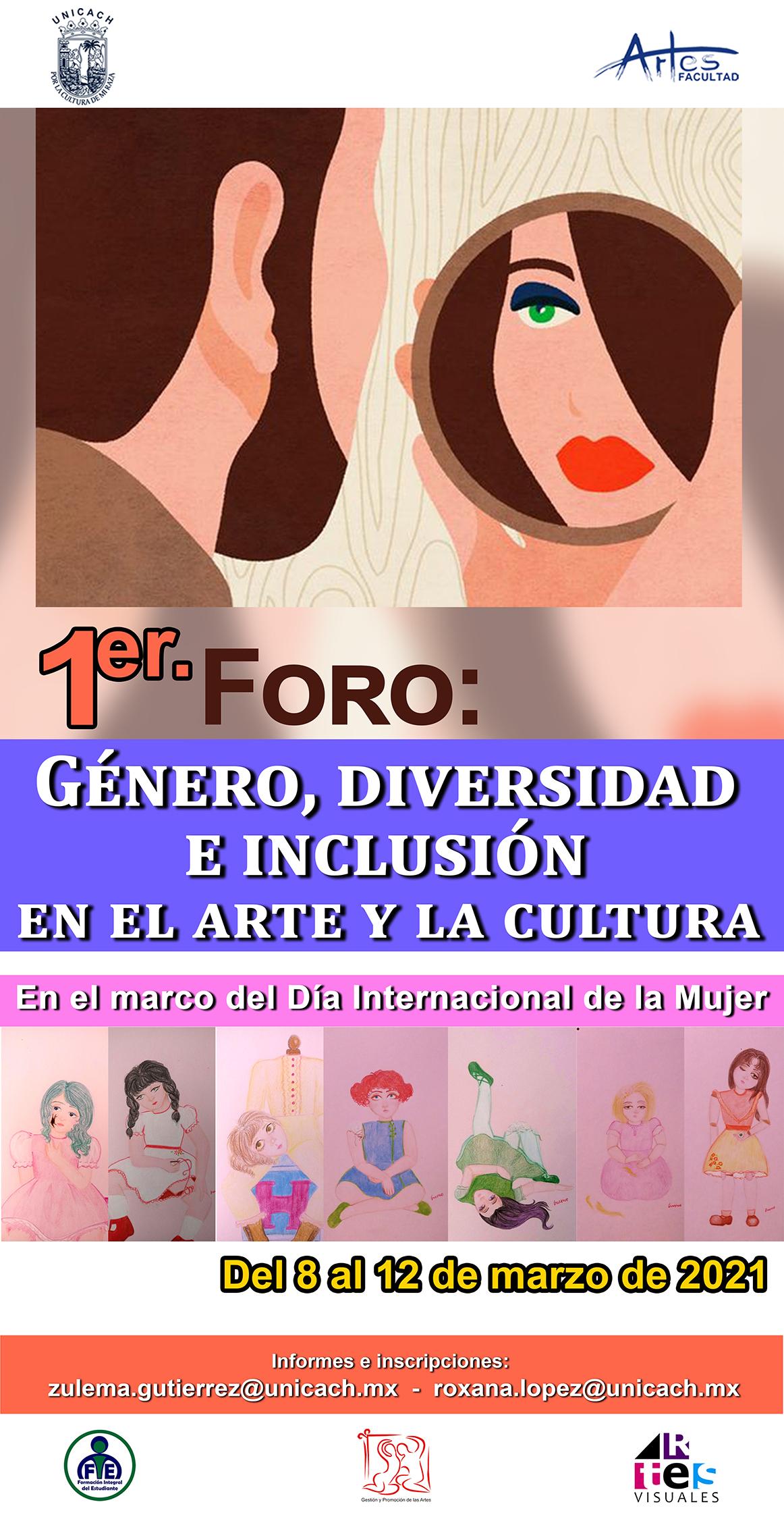 PRIMER FORO GENERO DIVERSIDAD E INCLUSION EN EL ARTE2